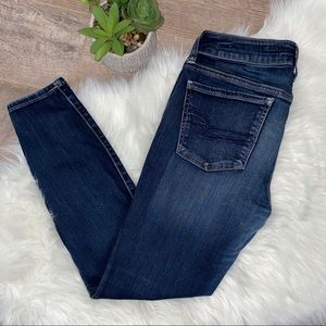 American Eagle SUPER LOW RISE JEGGINGS